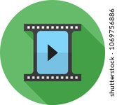 video player icon | Shutterstock .eps vector #1069756886