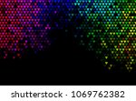 dark multicolor  rainbow vector ... | Shutterstock .eps vector #1069762382