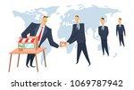 franchise  concept vector...   Shutterstock .eps vector #1069787942
