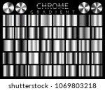 chrome background texture... | Shutterstock .eps vector #1069803218