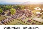Aerial View. Sukhothai...
