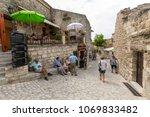 les baux de provence  france   ...   Shutterstock . vector #1069833482