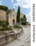 small church in les baux de...   Shutterstock . vector #1069834286