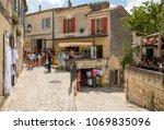 les baux de provence  france  ...   Shutterstock . vector #1069835096
