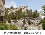 val d'efner  les baux de...   Shutterstock . vector #1069837346