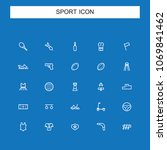 sports and recreation icon | Shutterstock .eps vector #1069841462
