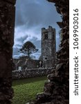 Small photo of Old cemetery in Slane. Ireland