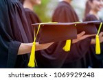 group of newly graduated... | Shutterstock . vector #1069929248