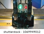 signal light working and stop...   Shutterstock . vector #1069949012