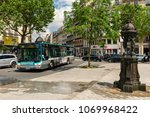 paris  france   may 25  2016 ... | Shutterstock . vector #1069968422