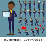 a set of businessmen with...   Shutterstock .eps vector #1069970915