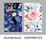 creative universal artistic... | Shutterstock .eps vector #1069980152
