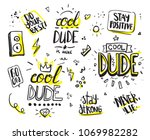 typography with slogan for t... | Shutterstock .eps vector #1069982282