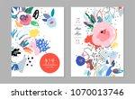 creative universal artistic... | Shutterstock .eps vector #1070013746