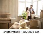 nice and bright apartment.... | Shutterstock . vector #1070021135
