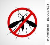 illustration of world malaria... | Shutterstock .eps vector #1070037635