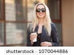upper class woman ... | Shutterstock . vector #1070044886