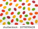 colorful candy marmalade texture | Shutterstock . vector #1070050628