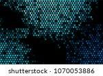 dark blue vector abstract...   Shutterstock .eps vector #1070053886