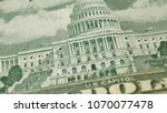 united states capitol on 50...   Shutterstock . vector #1070077478