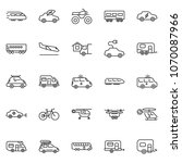 thin line icon set   home... | Shutterstock .eps vector #1070087966