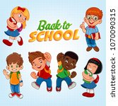 illustration for back to school | Shutterstock .eps vector #1070090315