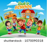 illustration for back to school | Shutterstock .eps vector #1070090318
