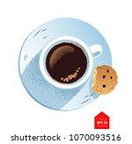 top view vector illustration of ... | Shutterstock .eps vector #1070093516