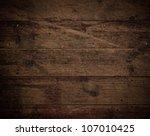 old brown wood floor texture   Shutterstock . vector #107010425