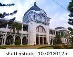maputo central train station ... | Shutterstock . vector #1070130125