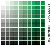 cmyk color chart to use in... | Shutterstock .eps vector #1070133395