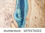 Texture Of A Wooden Table With...