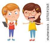 vector illustration of kids...   Shutterstock .eps vector #1070191565