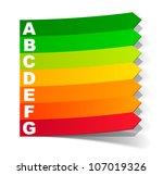 eps10  energy classification in ...   Shutterstock .eps vector #107019326