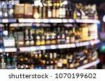 assortment of bottles of wine... | Shutterstock . vector #1070199602