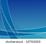 blue abstract vector...