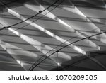 modern architecture stairs in... | Shutterstock . vector #1070209505