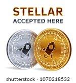 stellar. accepted sign emblem.... | Shutterstock .eps vector #1070218532