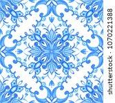 abstract seamless ornamental... | Shutterstock . vector #1070221388