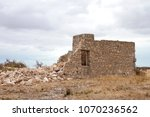 Ruined Stone House In South...