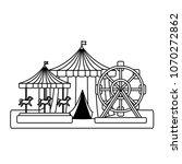 circus carnival design | Shutterstock .eps vector #1070272862