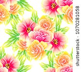 abstract elegance seamless... | Shutterstock .eps vector #1070281058