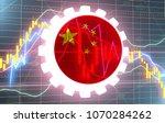 forex candlestick pattern.... | Shutterstock . vector #1070284262