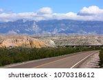 big bend national park | Shutterstock . vector #1070318612