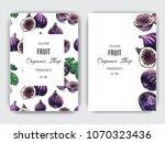 vector hand drawn fruit pattern....   Shutterstock .eps vector #1070323436