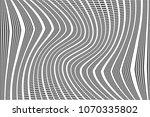 stripped halftone dots pattern... | Shutterstock .eps vector #1070335802