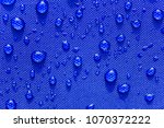 close up water drops pattern... | Shutterstock . vector #1070372222