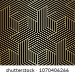 pattern with bold lines and... | Shutterstock .eps vector #1070406266