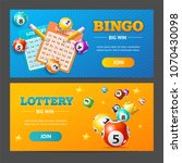 realistic detailed 3d lotto... | Shutterstock .eps vector #1070430098