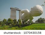 4 alril 2018  singapore  marc... | Shutterstock . vector #1070430158